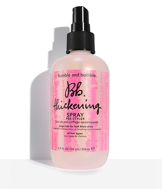Vaporisateur ruban rose Thickening Spray